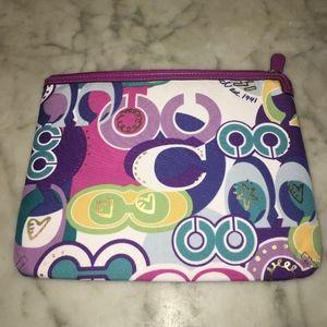 RARE COACH Poppy Pop C Tablet Padded Sleeve Case